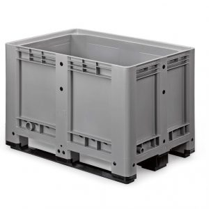 Palletbox 1200 x 800 x 780 mm op 4 sleeplatten